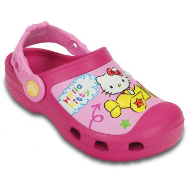 Creative Crocs Hello Kitty Plane Clog
