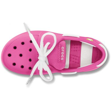 Beach Line Lace Boat Shoe Kids