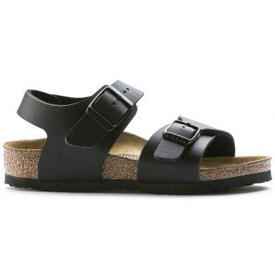 Dětské černé sandály Birkenstock New York Birko-Flor