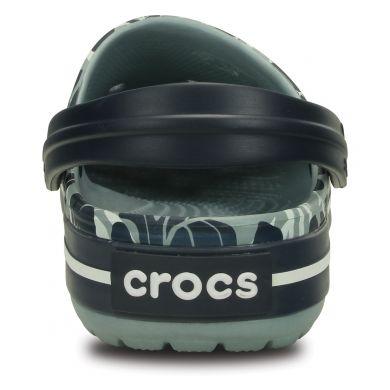 Crocband Tropical Print Clog
