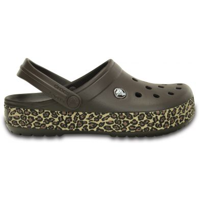 Crocband Animal Print Clog