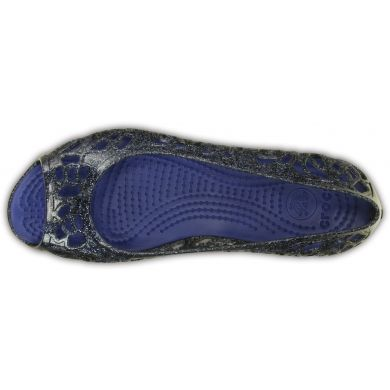 Crocs Isabella Glitter Flat GS