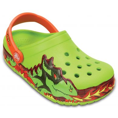CrocsLights Fire Dragon Clog K