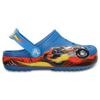 Crocband Monster Truck Clog Kids