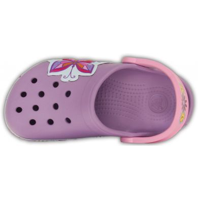 Crocband Butterfly Clog Kids