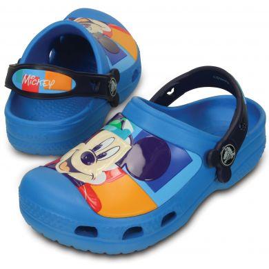 CC Mickey Colorblock Clog Kids