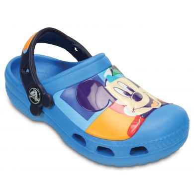 CC Mickey Colorblock Clog Kids