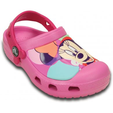 CC Minnie Colorblock Clog Kids