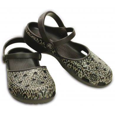 Crocs Karin Leopard Clog W