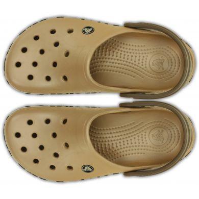 Crocband Leopard Clog
