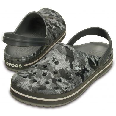 Crocband Camo Clog