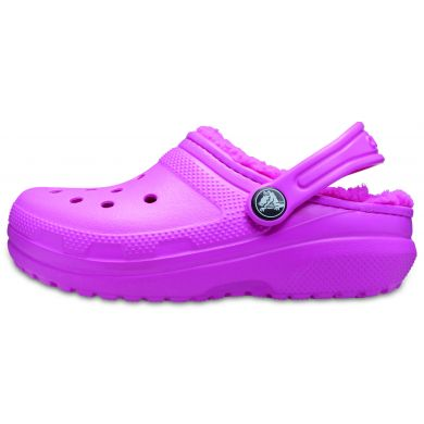Classic Lined Clog K Electric Pink