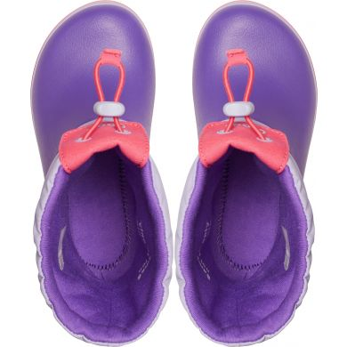 Crocband LodgePoint Boot K Lavender/Neon Purple