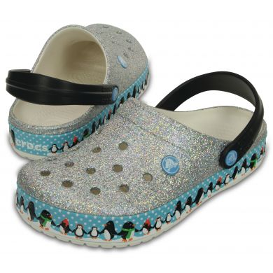 Crocband Penguins Clog