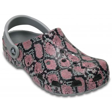 Classic Snake Graphic Clog