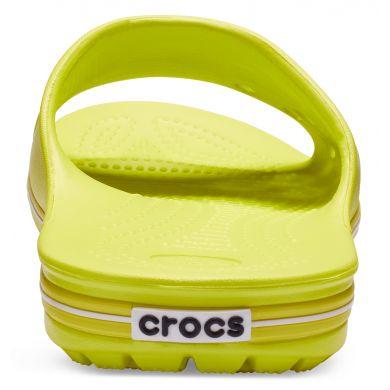 Crocband II Slide Tennis Ball Green/White