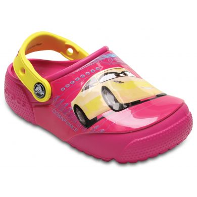 CrocsFunLab Lights Cars 3 Clog