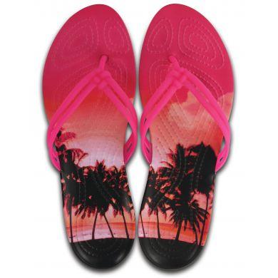 Crocs Isabella Graphic Flip W