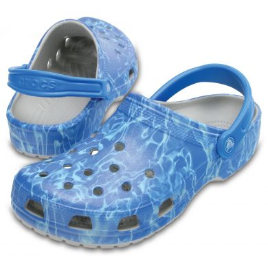 Classic Water Graphic Clog
