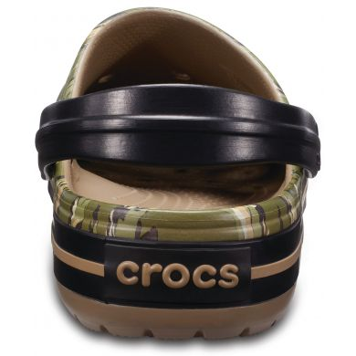 Crocband Graphic Clog