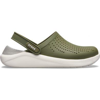 LiteRide Clog Army Green/White