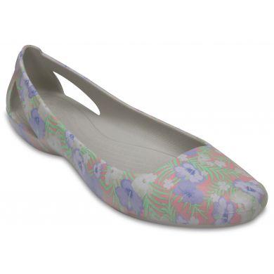 Crocs Sienna Graphic Flat W