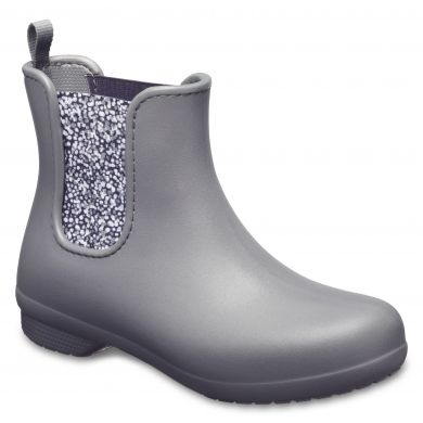 Crocs Freesail Chelsea Boot W Slate Grey/Dots