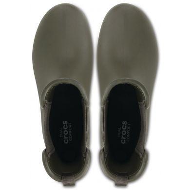Crocs Freesail Chelsea Boot W Dark Camo Green