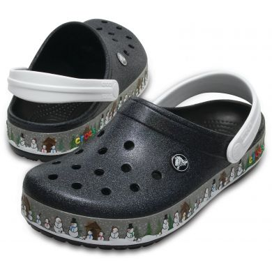 Crocband Holiday Clog