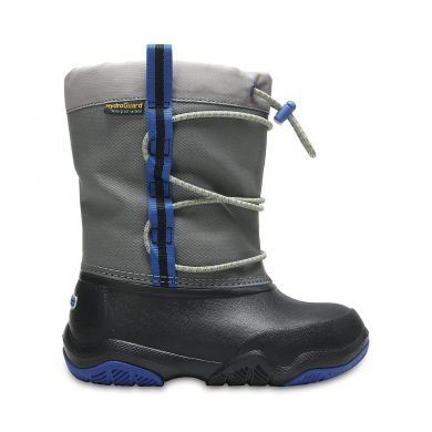 Swiftwater Waterproof Boot K Black/Blue Jean