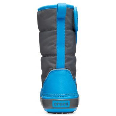 LodgePoint Snow Boot K Slate Grey/Ocean