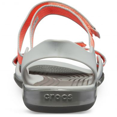 Swiftwater Webbing Sandal W Bright Coral/Light Grey