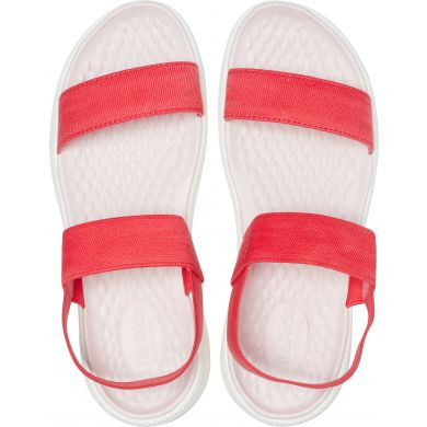 LiteRide Sandal W Poppy/White