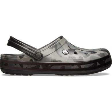 Crocband Seasonal Graphic Clog