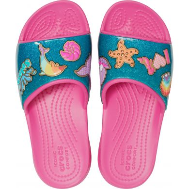 CrocsFL BeachFun Slide K