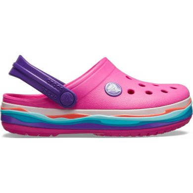 Crocband Wavy Band Clog K
