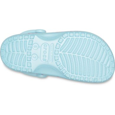 Classic Seasonal Graphic Clog Ice Blue/Pink