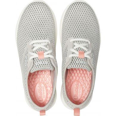 LiteRide Mesh Lace W Pearl White/White