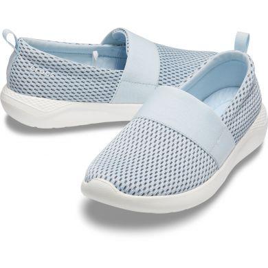 LiteRide Mesh Slip On W Mineral Blue/White