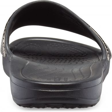 Crocs Sloane MetalText Slide W