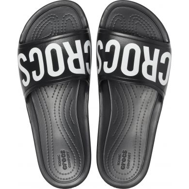 CrocsSloane Logo Mania Slide W