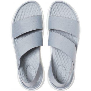 LiteRide Stretch Sandal W Light Grey/White