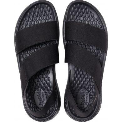 LiteRide Stretch Sandal W Black/Black