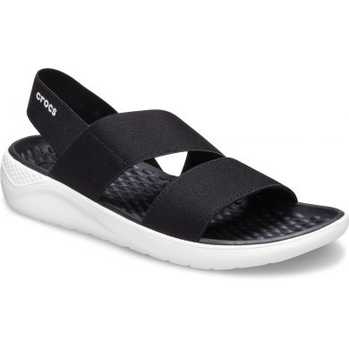 LiteRide Stretch Sandal W Black/White