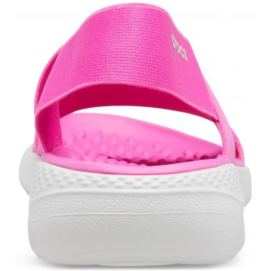 LiteRide Stretch Sandal W Electric Pink/Almost White