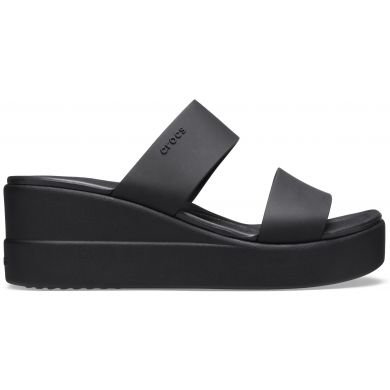 Crocs Brooklyn Mid Wedge Black/Black