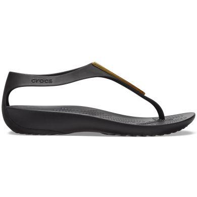 Crocs Serena Metallic Bar Fp W Gold/Black