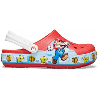 Crocs Fun Lab Super Mario Lights Clog K Flame