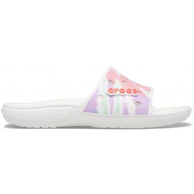 Classic Crocs TieDye Grphc Sld Fso/Mlti