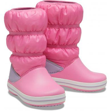 Crocband Winter Boot K Pink Lemonade/Lavender